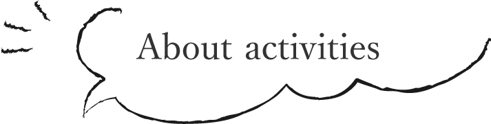 About activities
